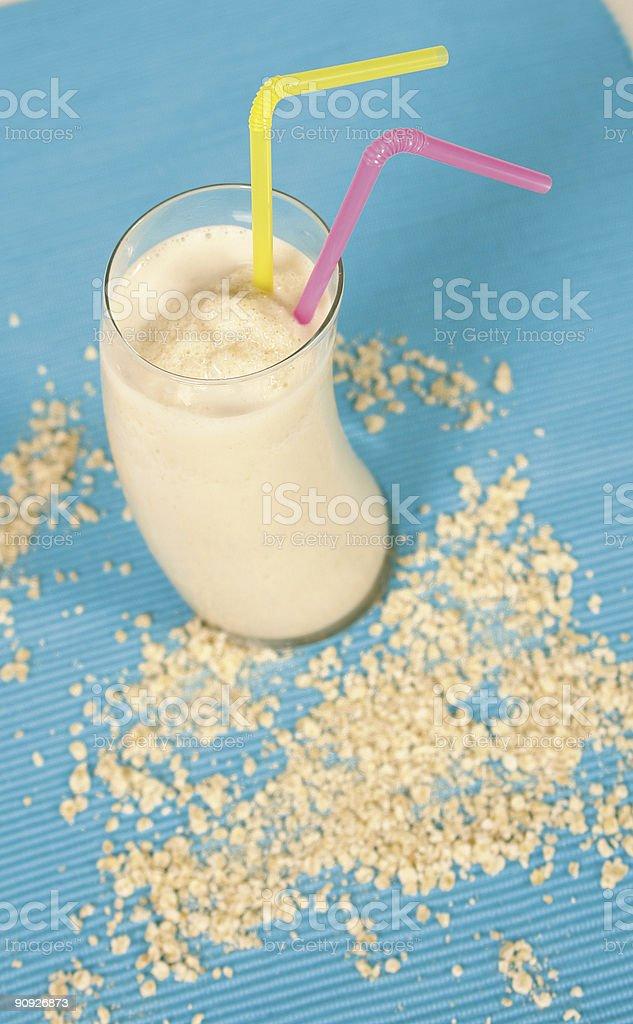 Rice smoothie stock photo