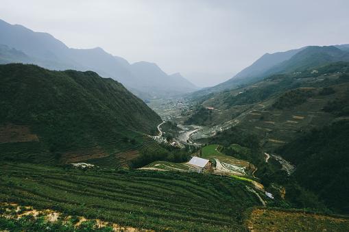 Pirinç Terasları Kuzey Vietnam Stok Fotoğraflar & Dağ'nin Daha Fazla Resimleri