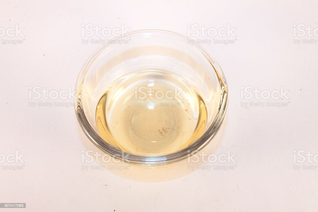 Rice vinegar stock photo