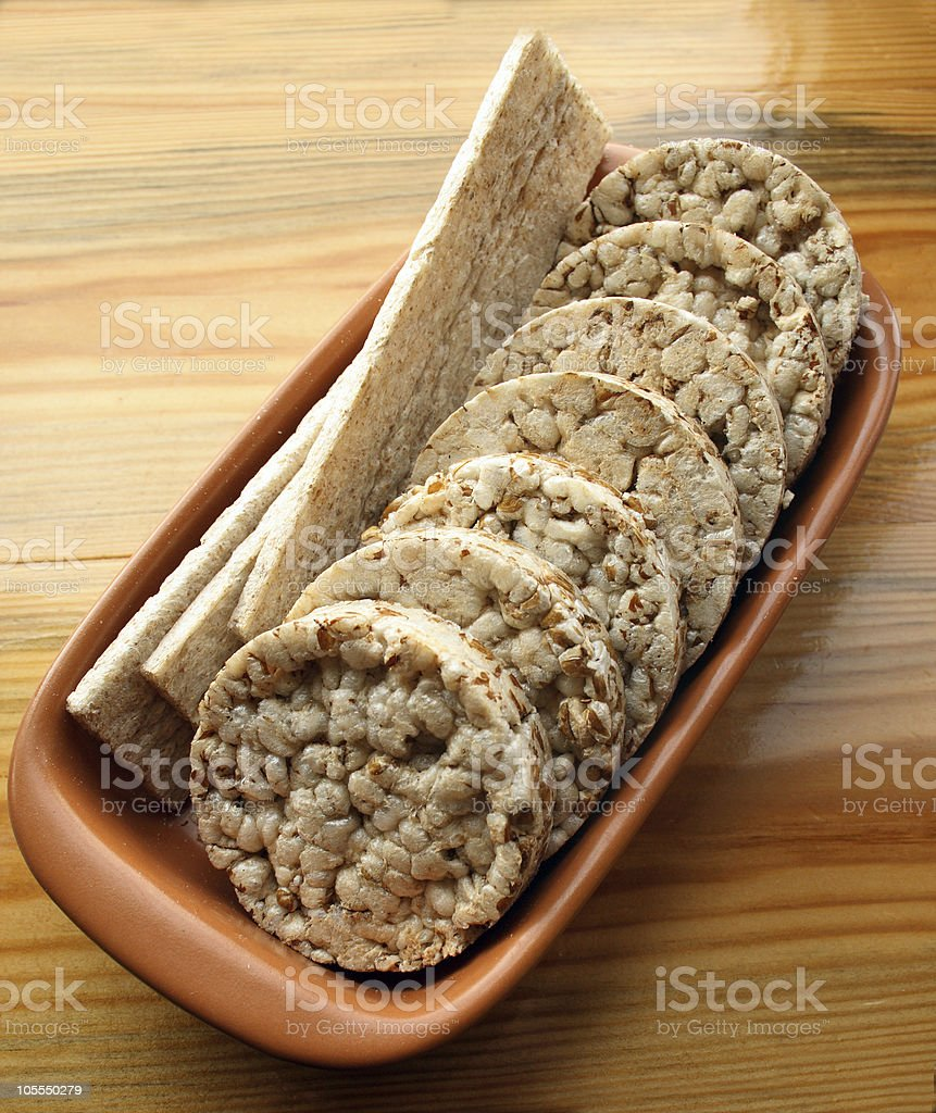Ricecakes stock photo