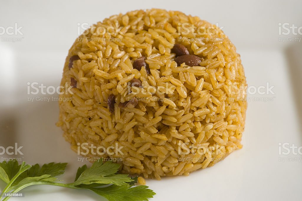Rice-N-Beans stock photo