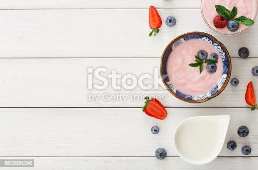 863562090istockphoto Rich breakfast on white wooden table 862605256