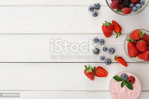 863562090istockphoto Rich breakfast on white wooden table 865836084