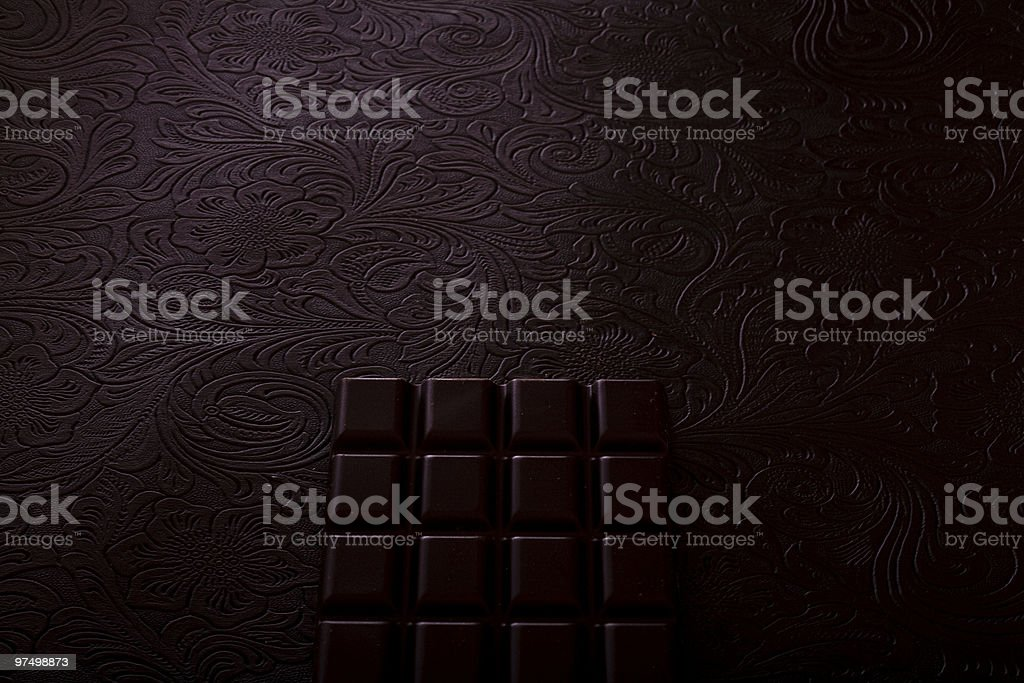 Rich dark chocolate royalty-free stock photo