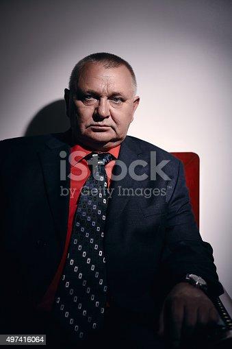 530281723istockphoto Rich man portrait 497416064