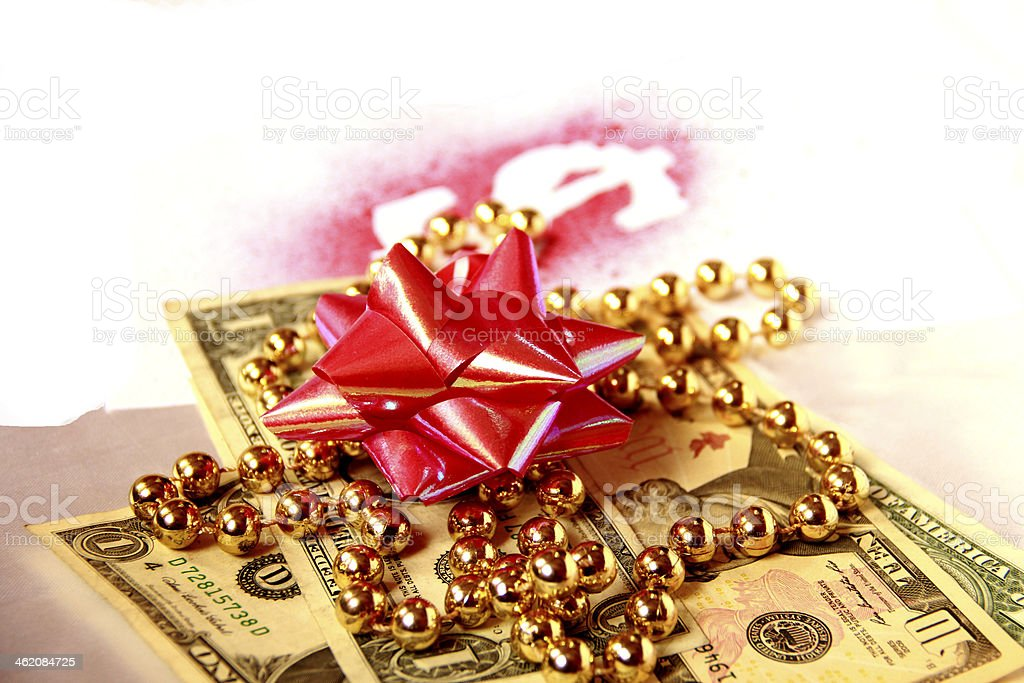 Rich Men's Christmas royalty-free stock photo