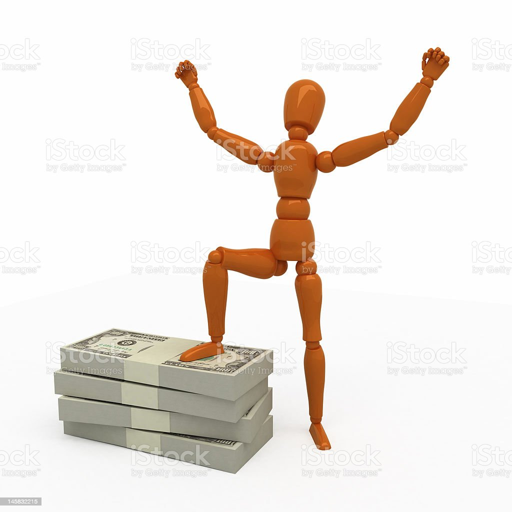 Rich! royalty-free stock photo