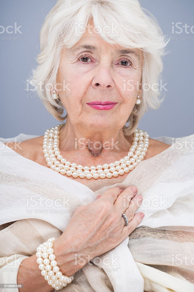 Rich, pride and beautiful stock photo