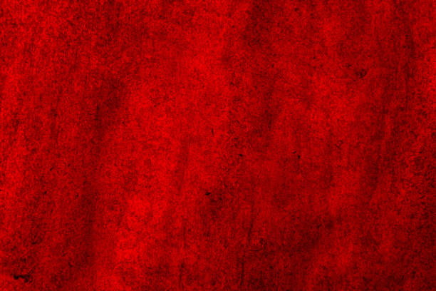 Rich red background with dark fragments for advertising and design stock photo
