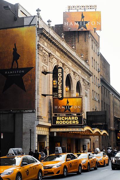 Richard Rodgers Theatre Hosting the Hamilton Musical – Foto