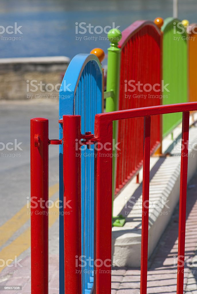 Richly colored royalty-free stock photo