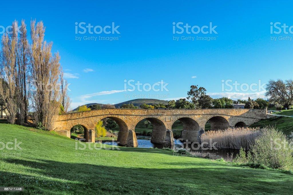 Richmond Bridge ist die älteste Stein Span von Australien in Tasmanien. – Foto