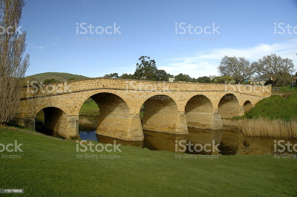 Richmond Bridge royalty-free stock photo
