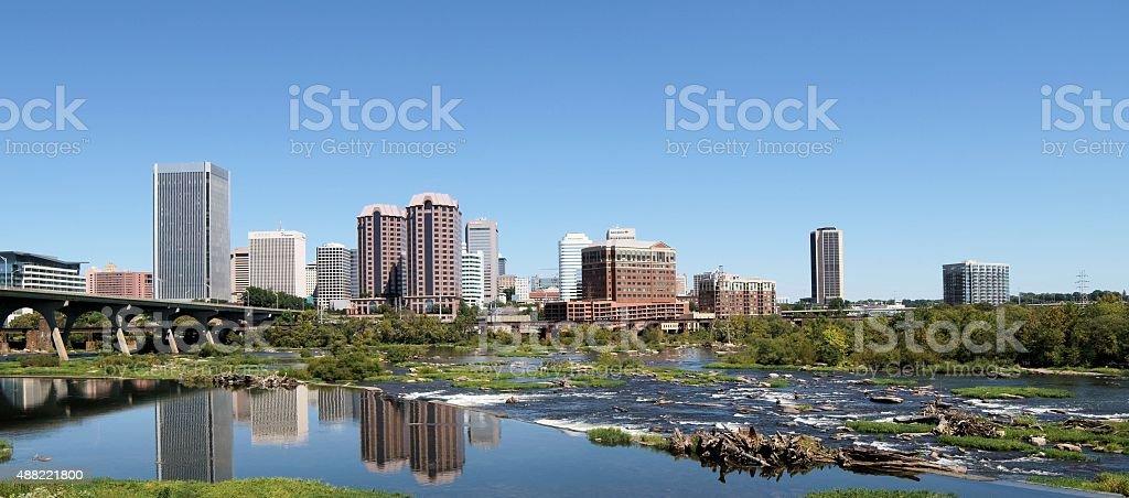 Richmond Landscape stock photo