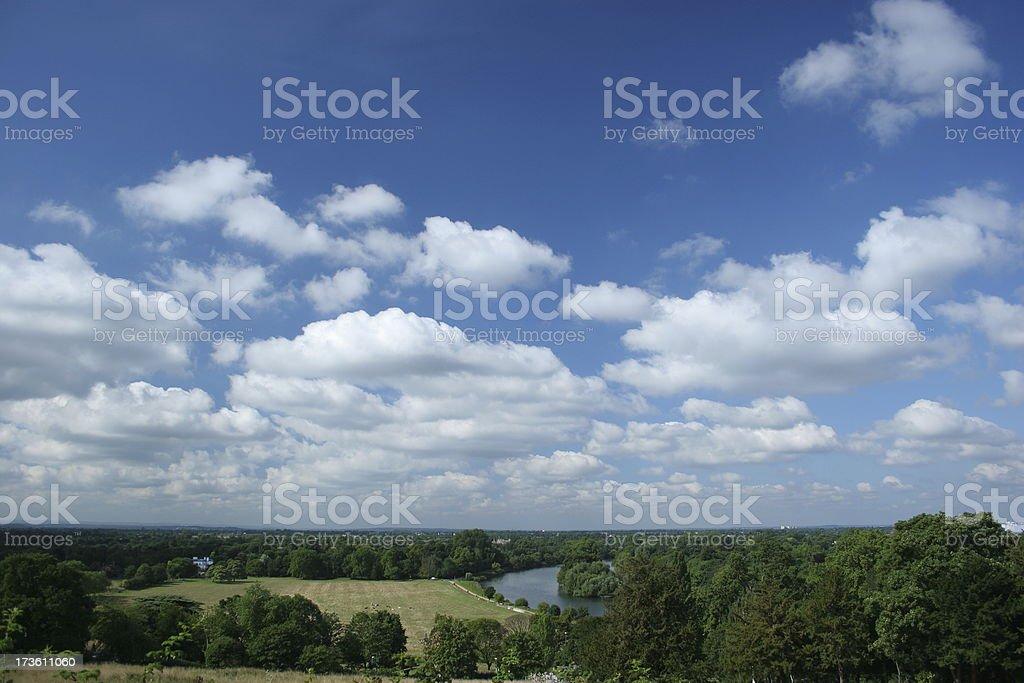 Richmond 'The View' stock photo