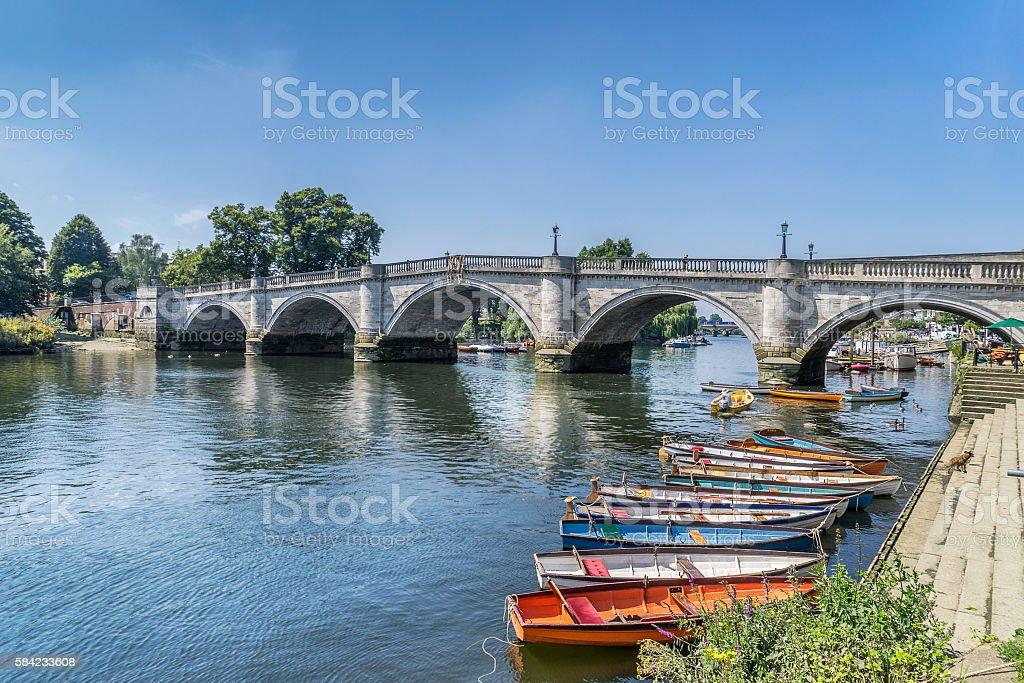 Richmond Upon Thames stock photo