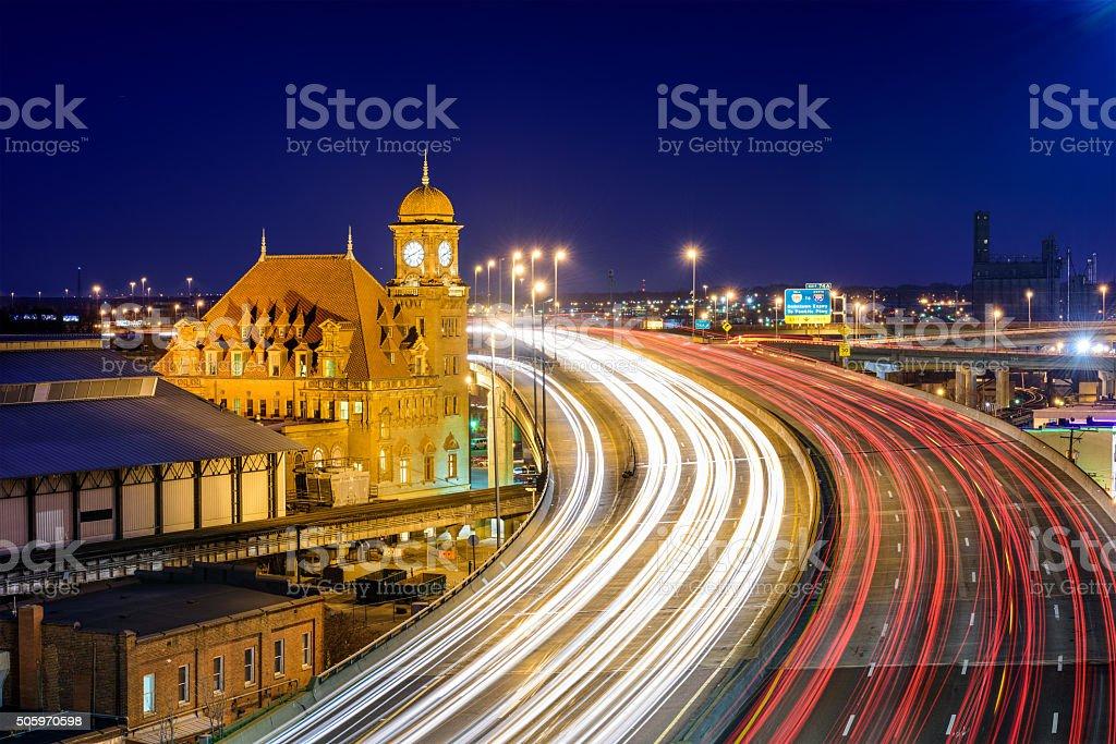 Richmond, Virginia Cityscape stock photo