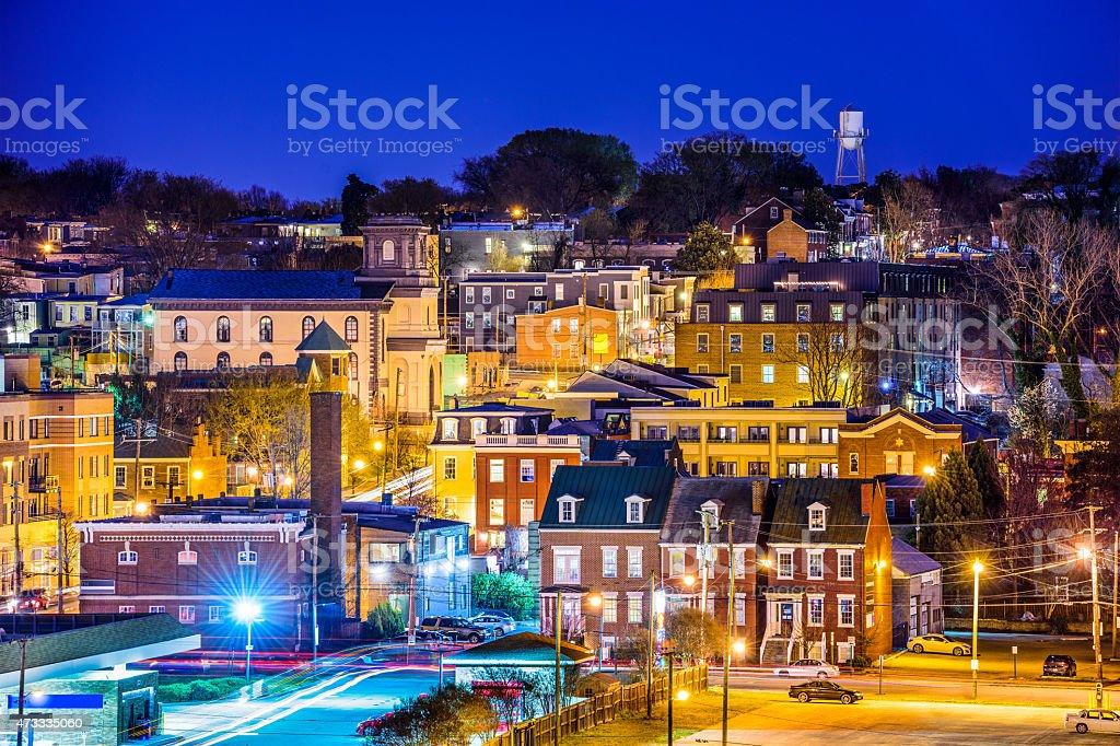 Richmond Virginia Neighborhoods stock photo