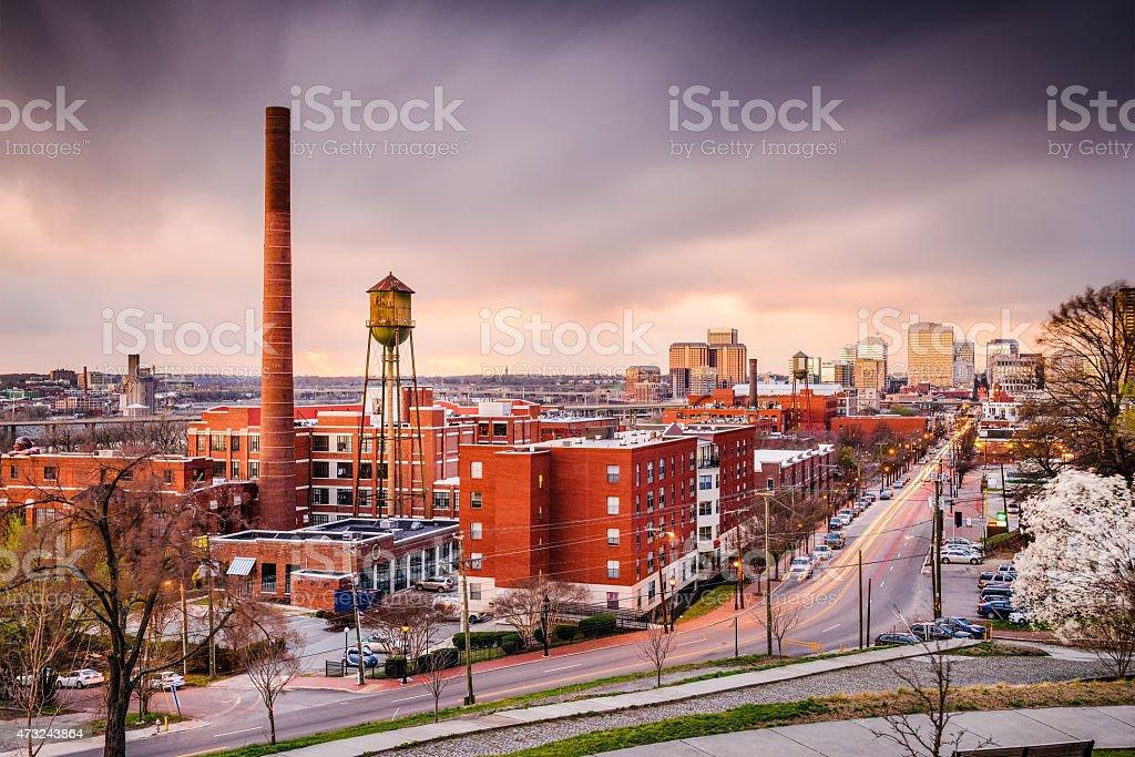 Richmond, Virginia Skyline stock photo