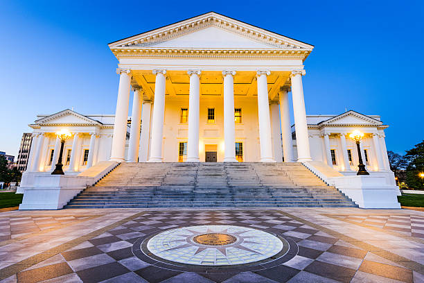 Richmond Virginia State Capitol Virginia State Capitol in Richmond, Virginia, USA. state capitol building stock pictures, royalty-free photos & images