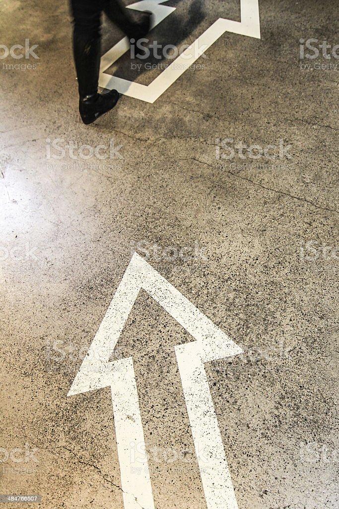 Richtung stock photo