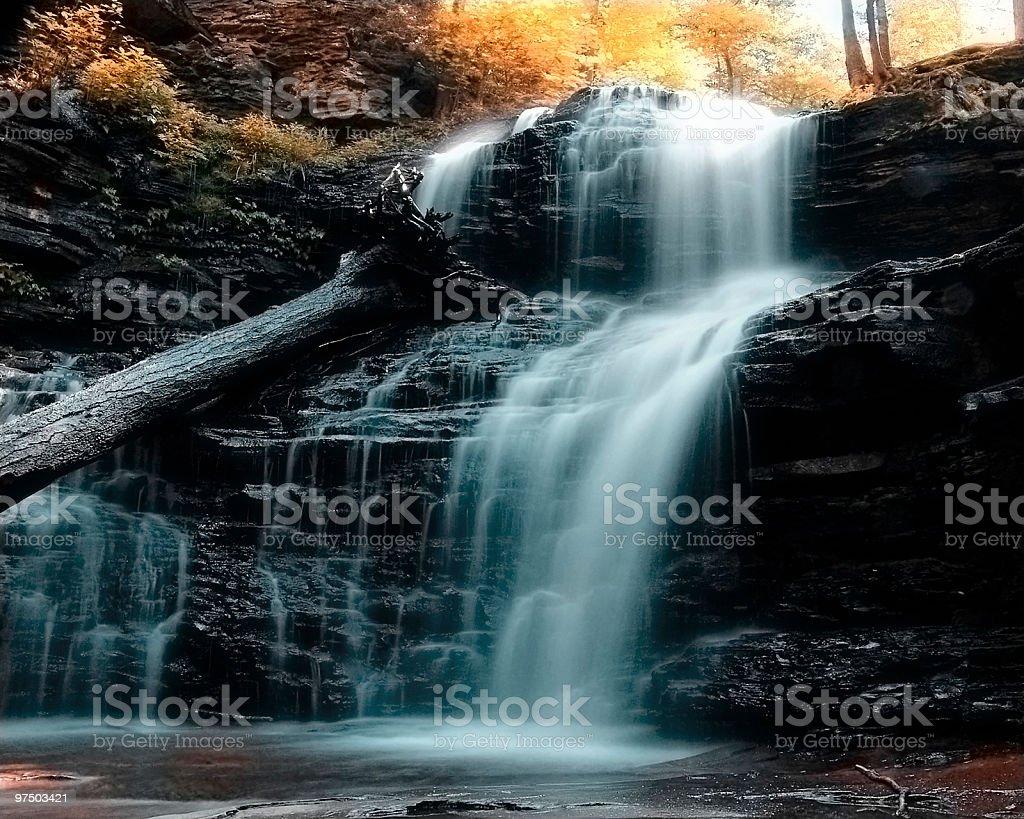Rickett's Falls royalty-free stock photo