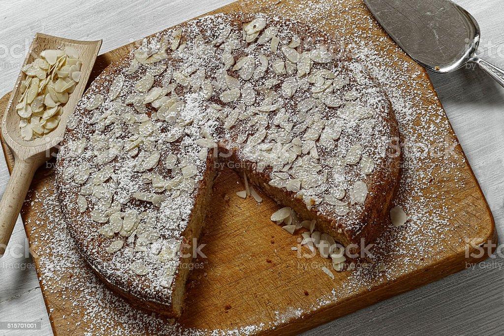 Ricotta Mandel Kuchen Stock Photo More Pictures Of Almond Istock