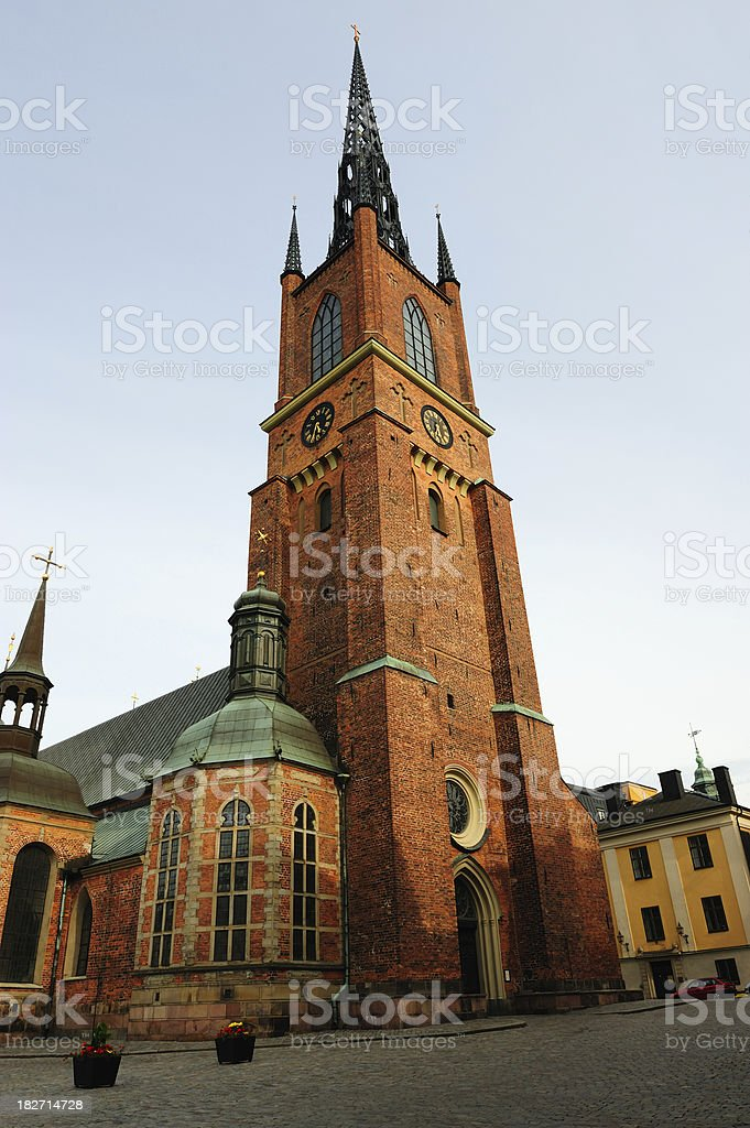 Riddarholmskyrkan, Stockholm, Sweden royalty-free stock photo