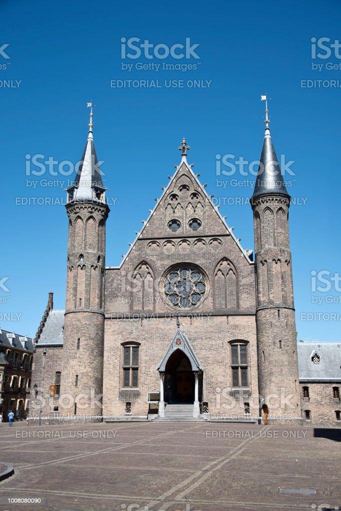 Rittersaal im Binnenhof in der Stadt Den Haag, Niederlande – Foto