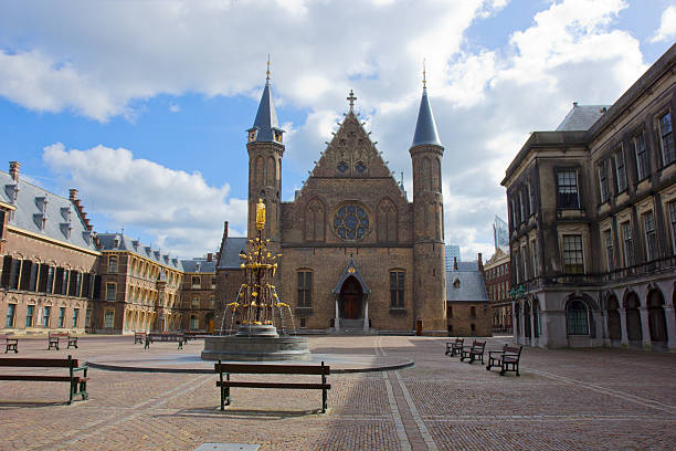 Ridderzaal, the Hague, Netherlands stock photo
