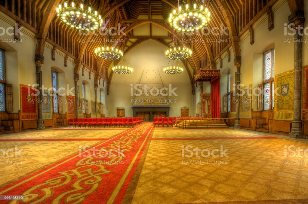 Ridderzaal The Hague stock photo
