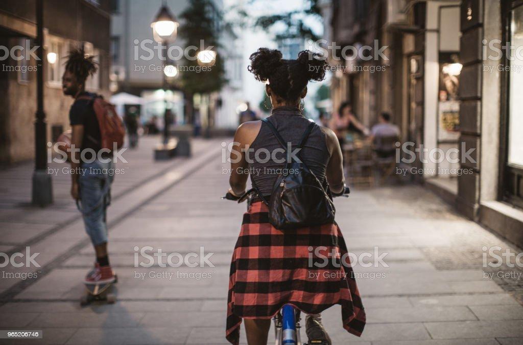 Ride and enjoy royalty-free stock photo