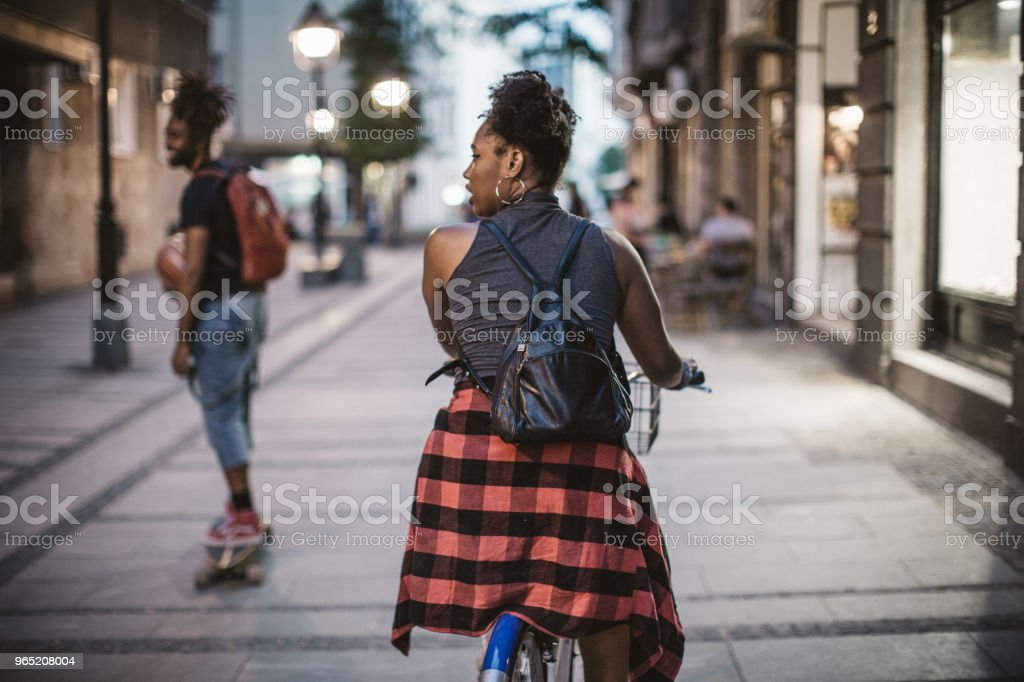 Ride and enjoy royalty-free stock photo