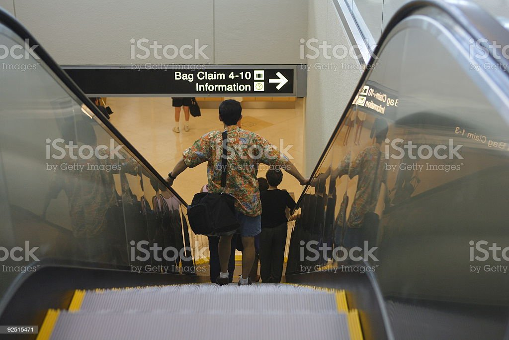 Ride Down royalty-free stock photo