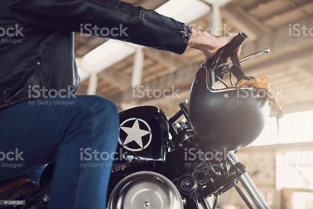 Ride Hard stock photo