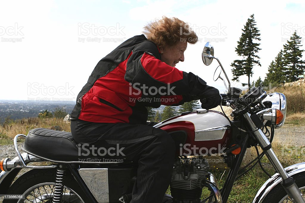 Ride like the wind royalty-free stock photo