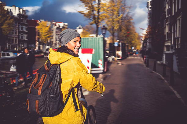 Ride of the day stock photo