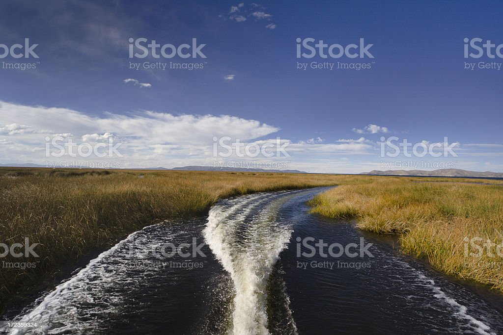 Ride on the Lake royalty-free stock photo