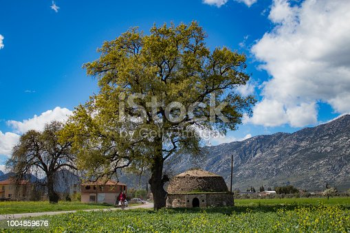 spring tour in the villages of antalya