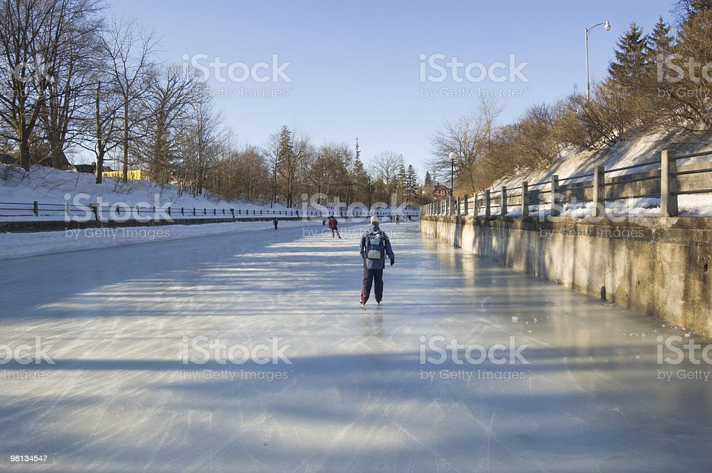 Rideau Canal foto stock royalty-free