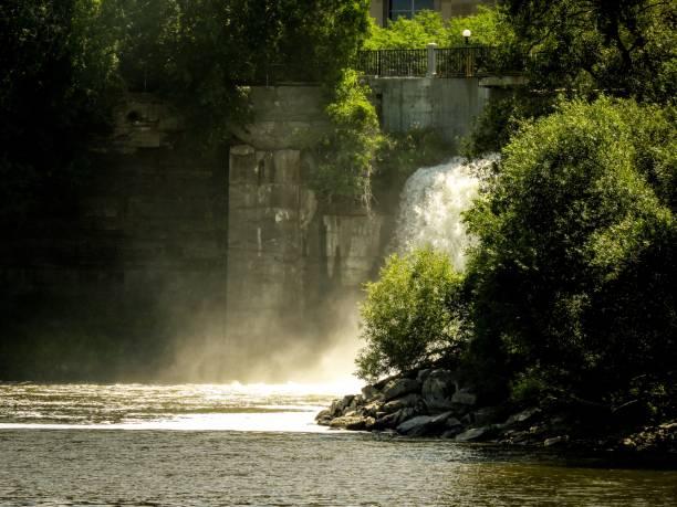 Rideau Falls I stock photo