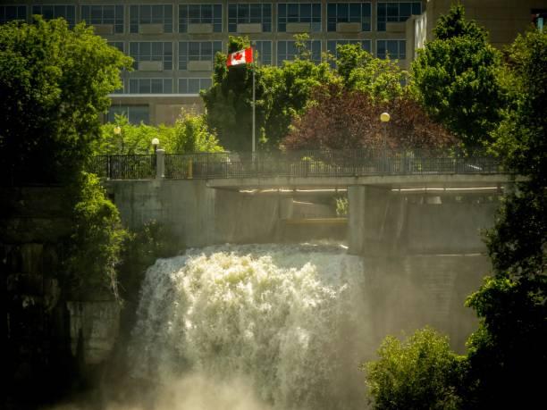 Rideau Falls II stock photo
