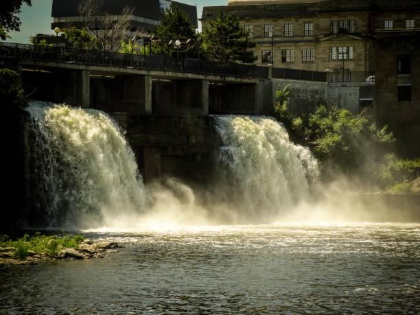 Rideau Falls III stock photo