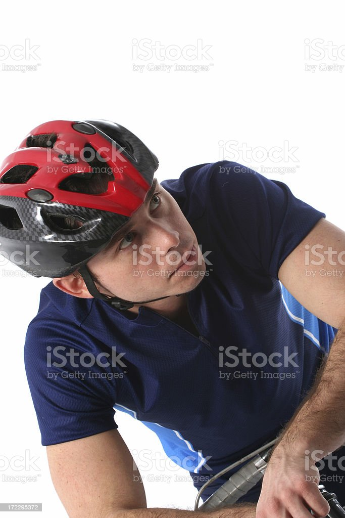 Rider before race royalty-free stock photo