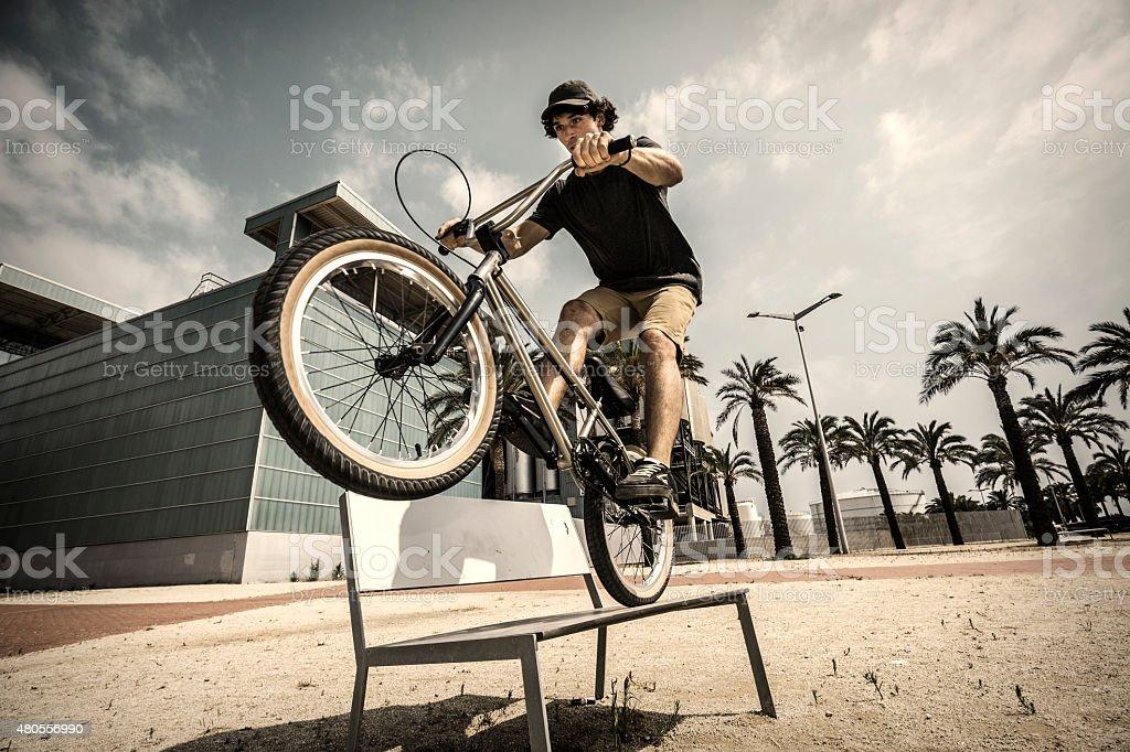 Bmx city extreme rider