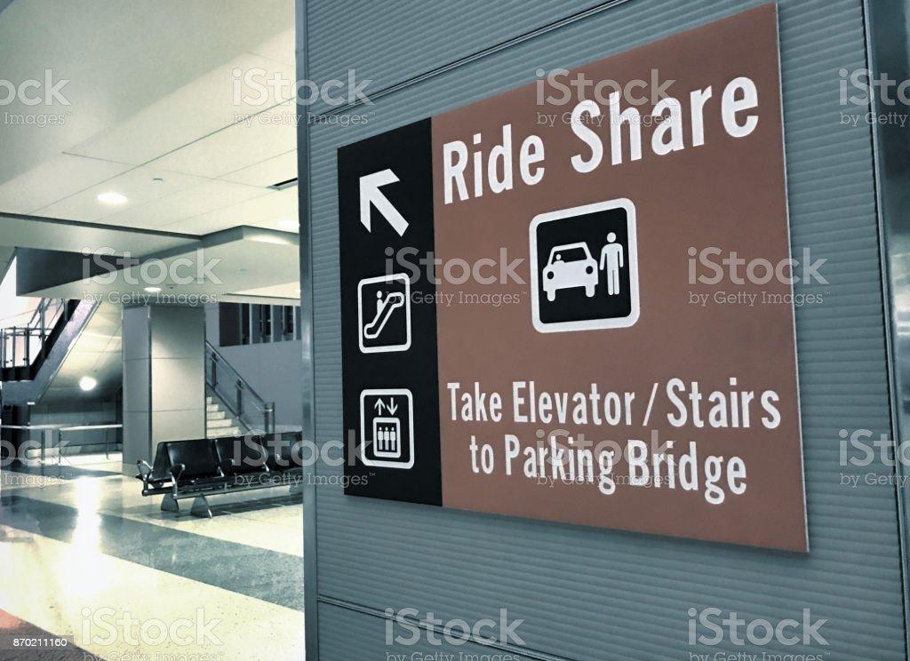 rideshare stock photo