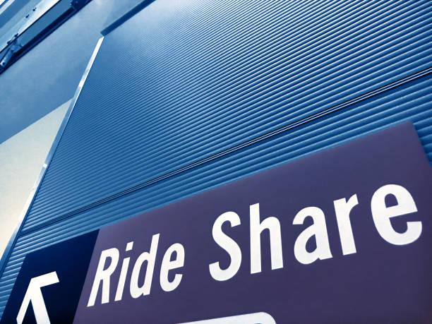 Rideshare - foto de stock