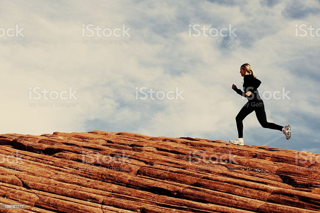 Ridge Runner royalty-free stock photo