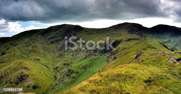 Dove Crag to Hart Crag ridge