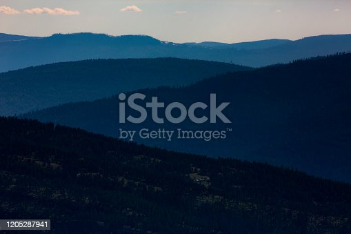 Ridgelines in Narth West Montana in Kalispell, MT, United States